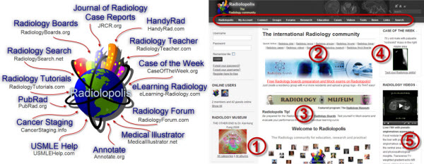 Free full text article: Educational treasures in Radiology: Radiolopolis - an international Radiology community