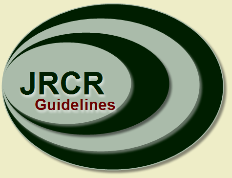 JRCR - updated author guidelines for 2013